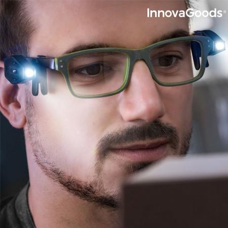 Clips cu LED 360 pentru ochelari - set 2 buc1