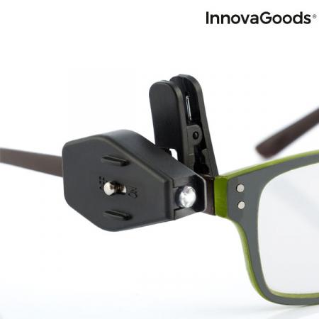Clips cu LED 360 pentru ochelari - set 2 buc4