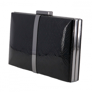Clutch Love Moschino Negru2