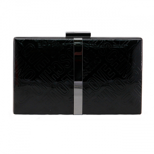 Clutch Love Moschino Negru0