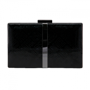 Clutch Love Moschino Negru1