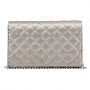 Clutch Love Moschino Silver2
