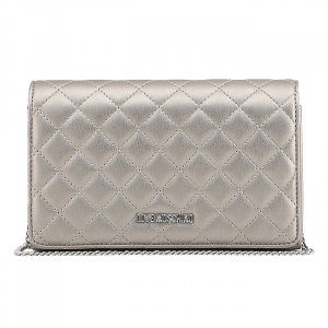 Clutch Love Moschino Silver0