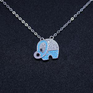 Colier Elefant din argint1