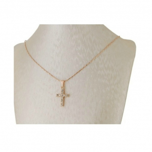 Colier Gold Cross2