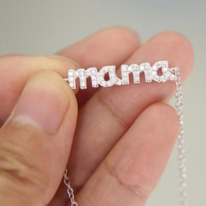 Colier Mama din argint2