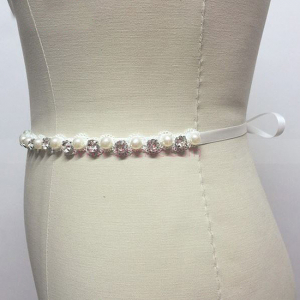 Cordon mireasa Crystals&Pearls2