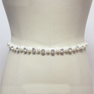 Cordon mireasa Crystals&Pearls0