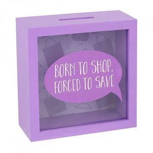 Cutie economii Born to shop1