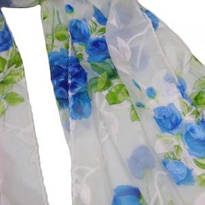Esarfa Floret Blue [2]