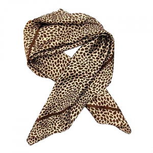 Esarfa din matase Leopard0