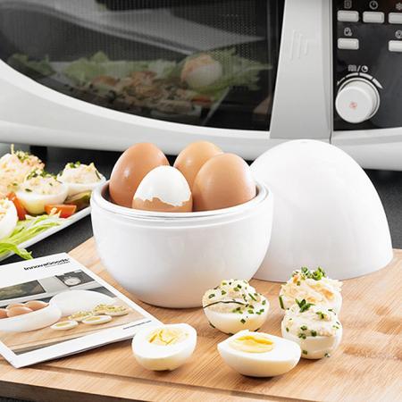 Fierbator oua pentru cuptor microunde Innova Goods0