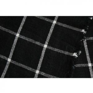 Fular negru si alb2