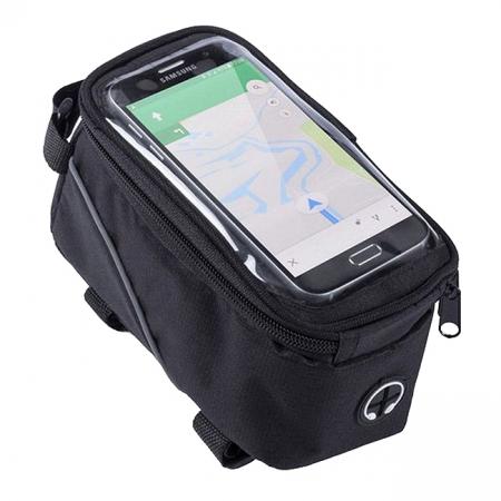 Geanta pentru bicicleta cu ecran tactil0