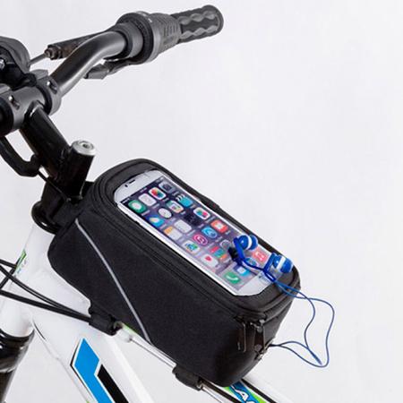 Geanta pentru bicicleta cu ecran tactil1