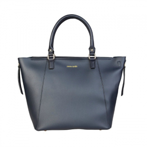 Geanta Pierre Cardin Shopper Blue0
