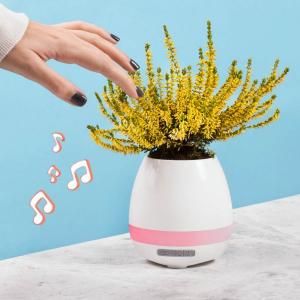Ghiveci cu speaker incorporat0