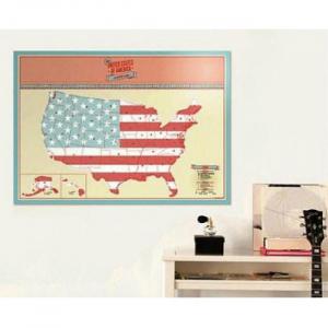 Harta de razuit - America5