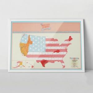 Harta de razuit - America4