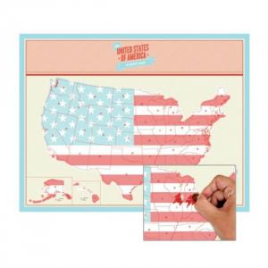 Harta de razuit - America0