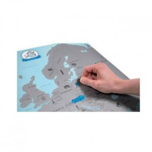 Harta de razuit – Europa1