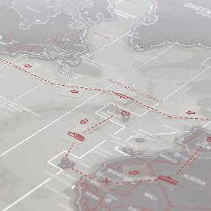 Harta de razuit Intreaga Lume - Platinum [3]