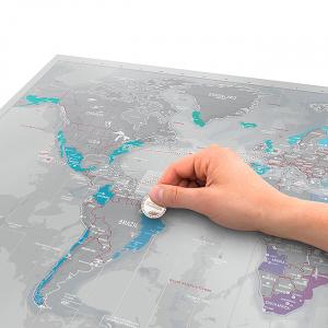 Harta de razuit Intreaga Lume - Platinum [1]