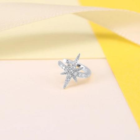 Cercel argint ear cuff Star [0]