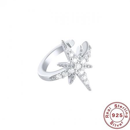 Cercel argint ear cuff Star [2]