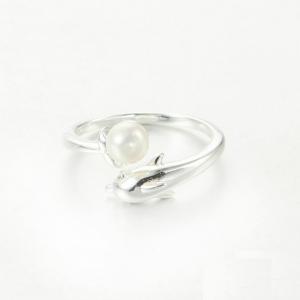 Inel Delfin din argint3