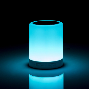 Lampa Touch Colour Changing cu speaker wireless2