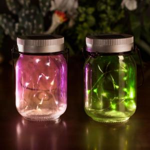 Lampi solare Fairy Jars3