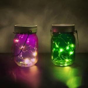 Lampi solare Fairy Jars0