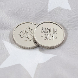 Moneda aniversara Born in 20191