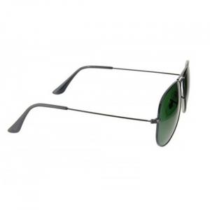 Ochelari de soare Aviator Black & Green [3]