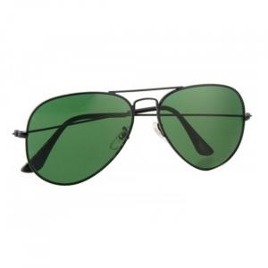 Ochelari de soare Aviator Black & Green [2]