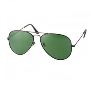 Ochelari de soare Aviator Black & Green [0]