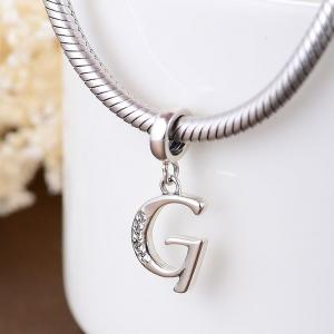 Pandantiv argint Litera G [2]