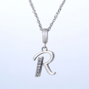 Pandantiv argint Litera R2