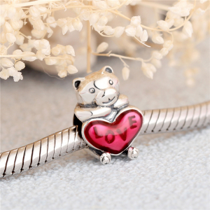 Pandantiv Bear Hug din argint [1]