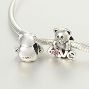 Pandantiv Bear Love din argint3