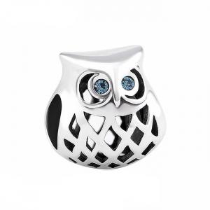 Pandantiv Blue Owl argint0