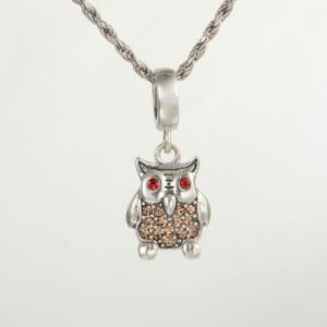 Pandantiv Happy Owl din argint [2]
