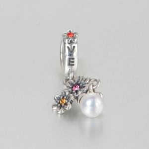 Pandantiv Love&Flowers din argint [4]