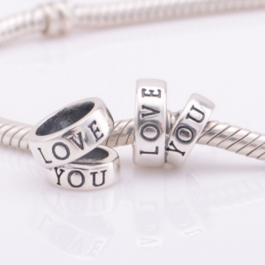 Pandantiv Love You argint2
