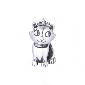 Pandantiv Pisica Aristocrata din argint0