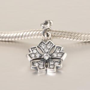 Pandantiv Romance Flower din argint3