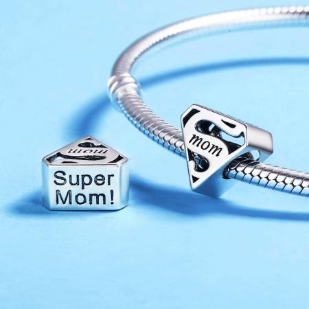 Pandantiv Super Mama - argint [0]