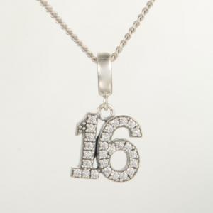 Pandantiv Sweet 16 din argint4