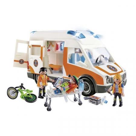 Playmobil Emergency Ambulance 4+2